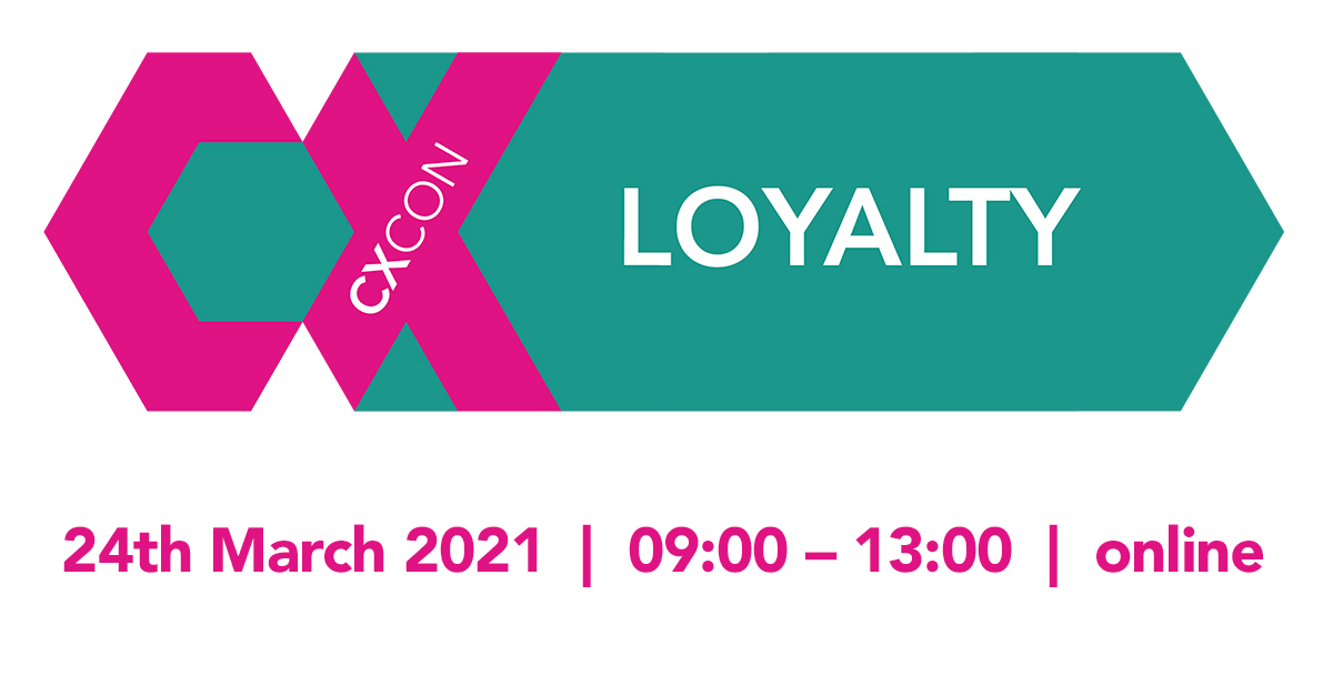 CXcon: The Loyalty Edition, 24th March 2021, online event by Inviqa